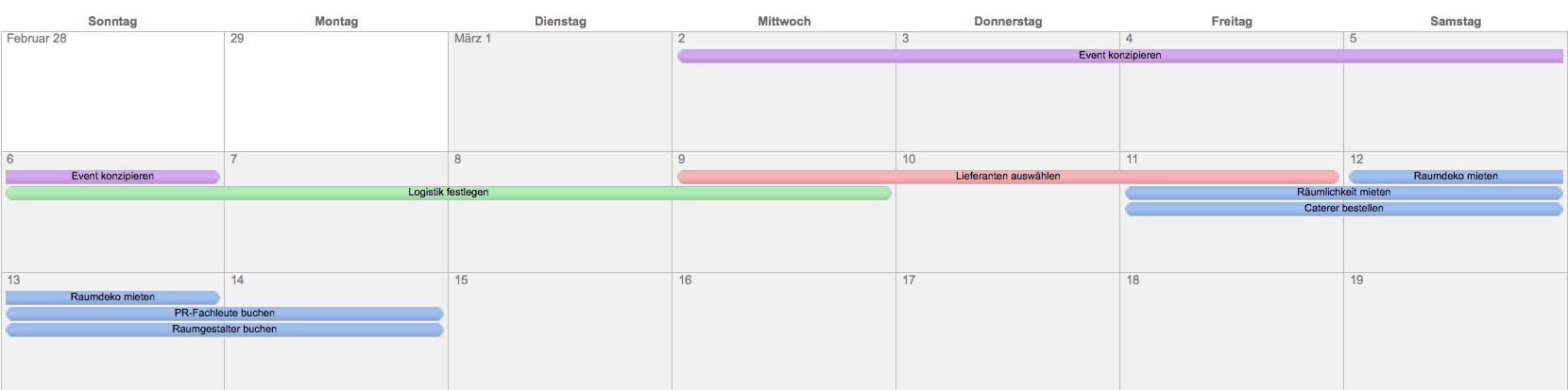 02/07/· In diesem Video lernst du eine sog. Gantt-Diagramm in Excel mit Hilfe von bedingten Formatierungen zu erstellen. Viel Spaß beim Zuschauen! +++ Tatakaus' Exce.