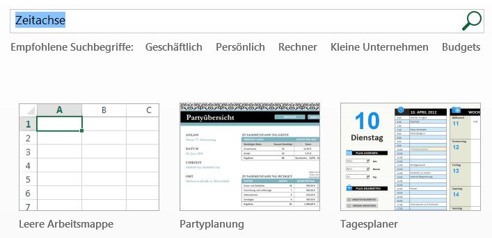 Excel Zeitachse Mit Einer Vorlage Erstellen
