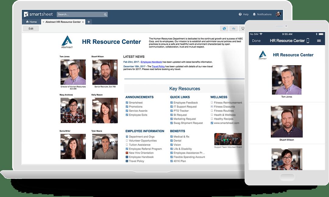 HR Resource Center Portal