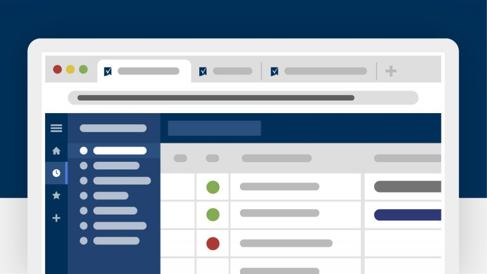 A graphic showing the Smartsheet platform's new user interface